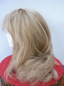 perruque abimee