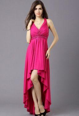 robe courte avant longue derriere